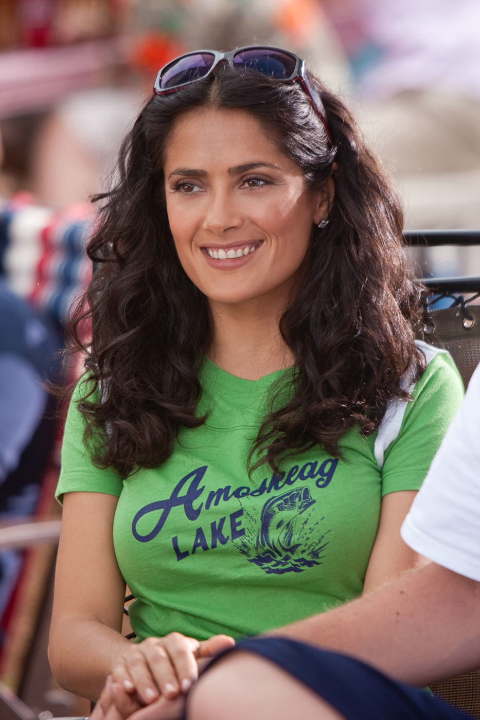 salma hayek grown ups bikini. hair salma hayek grown ups.
