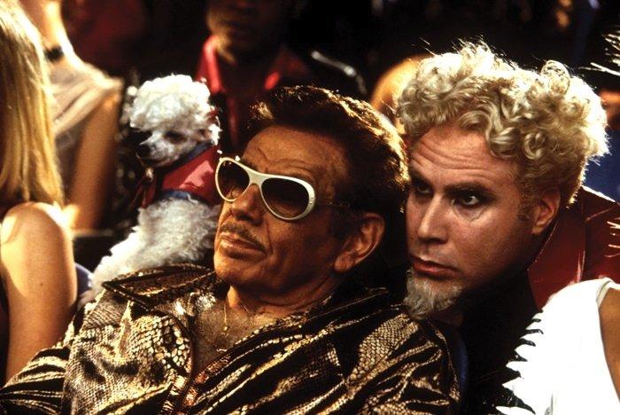 Jerry Stiller y Will Ferrell en Zoolander |