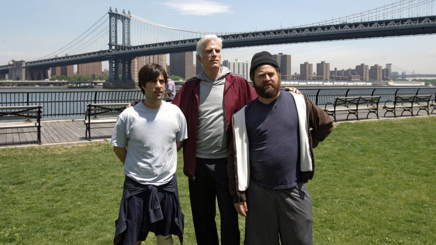 Jason Schwartzman Ted Danson Y Zach Galifianakis En Bored To Death Moviehaku