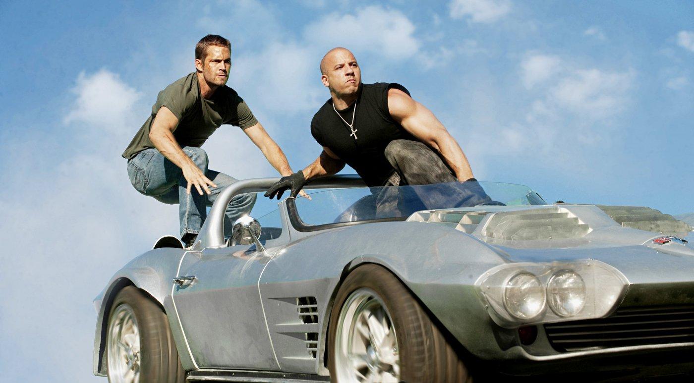 Paul Walker y Vin Diesel en Fast Five   MovieHaku